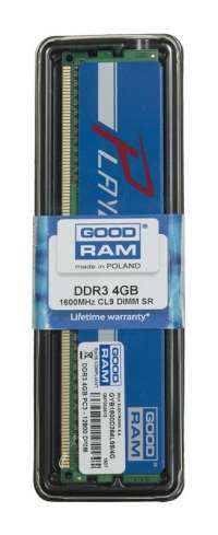 Goodram PLAY BLUE DDR3 DIMM 4GB 1600MHz (1x4GB)