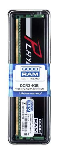 Goodram PLAY DDR3 DIMM 4GB 1866MHz (1x4GB) Czarny