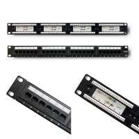 "Patch panel Qoltec 53992 (1U; 19""; kat. 6; 24xRJ-45)"